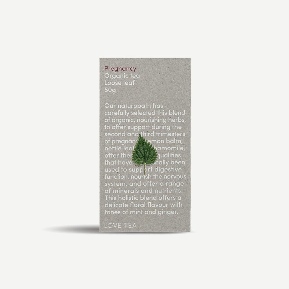Pregnancy Loose Leaf Tea Organic Tea Love Tea