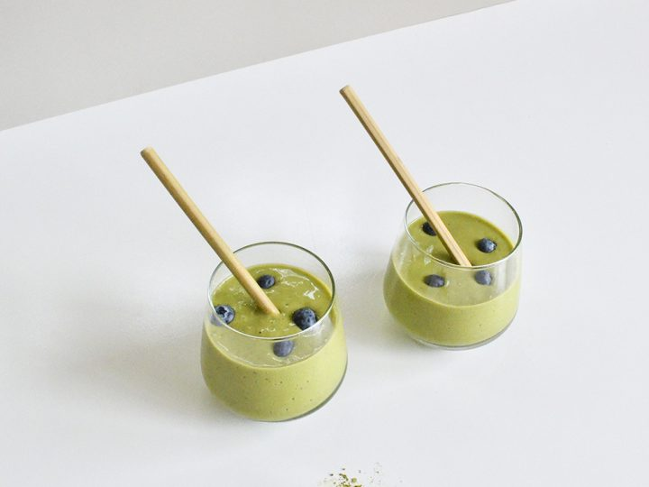 5 Ingredient Matcha Smoothie Recipe